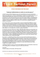 Fiche d'Info Pratique – Traitements continus